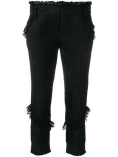 брюки с оборками  Dsquared2