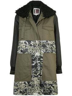 пальто с цветочным принтом IM Isola Marras