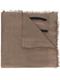 фактурный полосатый шарф Faliero Sarti