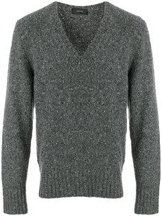 свитер с V-образным вырезом Joseph