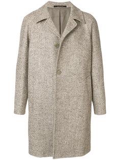 классическое однобортное пальто Tagliatore