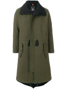 пальто со сборкой на поясе Tom Rebl
