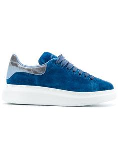 кроссовки на широкой платформе Alexander McQueen