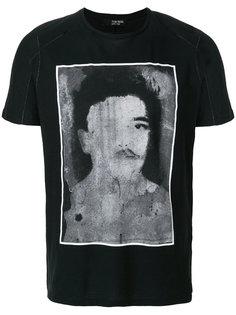 футболка с принтом портрета Tom Rebl