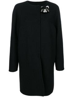 пальто со стразами  Ermanno Scervino