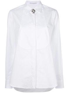 рубашка с отделкой стразами  Ermanno Scervino
