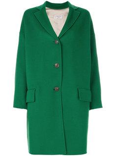 пальто на пуговицах с карманами с клапанами  Alberto Biani