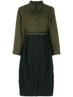 платье-рубашка с поясом  Ter Et Bantine