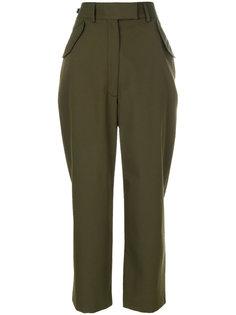 брюки с завышенной талией и карманами с клапаном  Ter Et Bantine