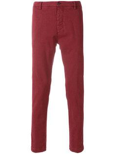 брюки прямого кроя с подвернутыми манжетами Al Duca D'Aosta 1902