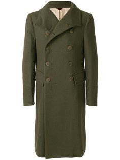 приталенное двубортное пальто Al Duca D'Aosta 1902