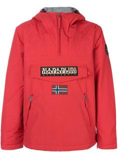 куртка без застежки с заплаткой с логотипом Napapijri