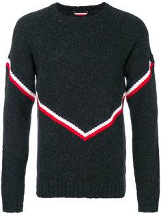 полосатый свитер Moncler