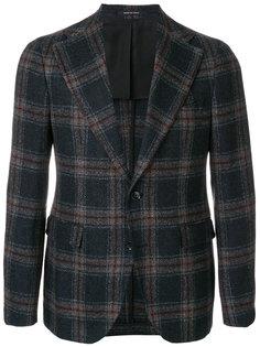 пиджак в клетку Tagliatore