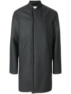 пальто без воротника Helmut Lang