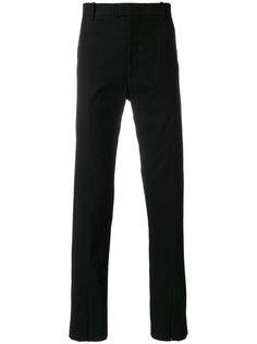 брюки прямого кроя Helmut Lang