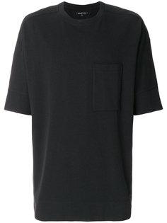 футболка с накладным карманом Helmut Lang