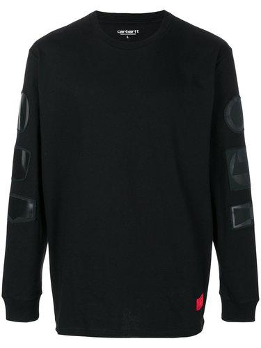 свитер с заплатками Carhartt