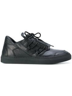 кроссовки на шнуровке Helmut Lang