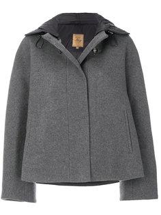 укороченное пальто-кейп  Fay