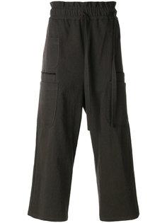 широкие брюки  с завязками на поясе Damir Doma