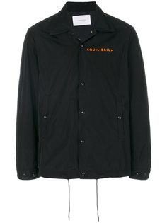 приталенная куртка на молнии Low Brand