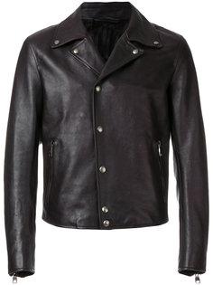 байкерская куртка Salvatore Ferragamo