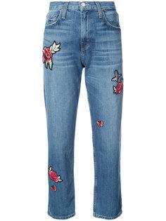 декорированные джинсы бойфренда  Joie