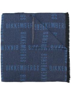 шарф с графическим принтом Dirk Bikkembergs