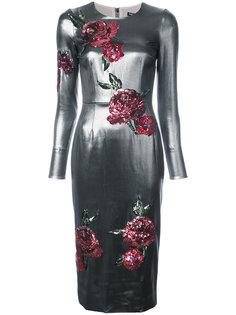 платье с заплатками в виде сердца Dolce & Gabbana