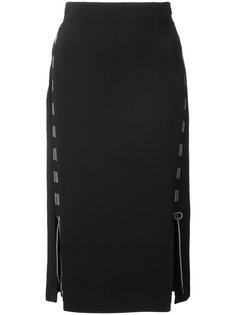 zipped midi skirt Antonio Berardi