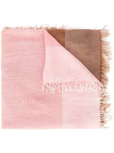 шарф дизайна колор-блок Faliero Sarti