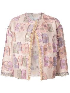 приталенный пиджак с вышивкой  Tsumori Chisato