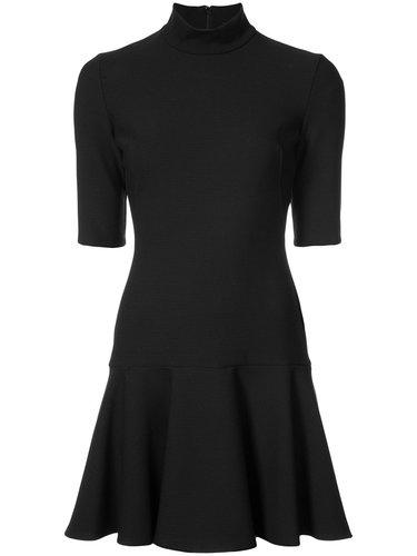 мини-платье с баской Black Halo