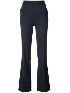 брюки с завышенной талией в полоску  Tibi