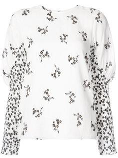 блузка с цветочным принтом Tibi