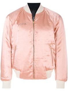 куртка-бомбер с вышивкой Visvim