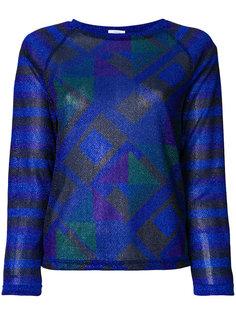 блузка с геометрическим принтом  Sadie Williams