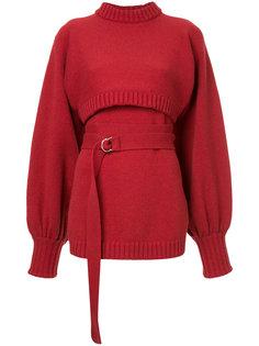 трикотажный свитер в рубчик  Irene