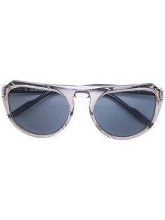 солнцезащитные очки в круглой оправе Courrèges