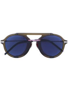 круглые солнцезащитные очки-авиаторы Fendi Eyewear