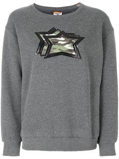 свитер с аппликацией звезд с камуфляжным принтом Atlantic Stars
