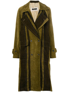 двубортное пальто Cyra Uma Wang