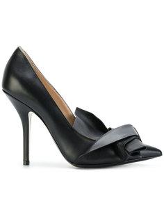 туфли с бантом спереди Nº21
