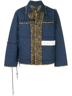 стеганая панельная куртка Craig Green