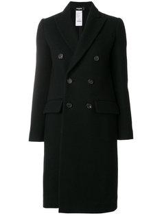 классическое двубортное пальто  Dsquared2