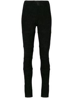 брюки скинни со вставками Kristensen Du Nord