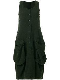 платье на пуговицах без рукавов Rundholz Black Label