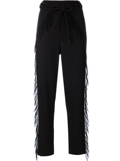 брюки с бахромой  Veronique Leroy