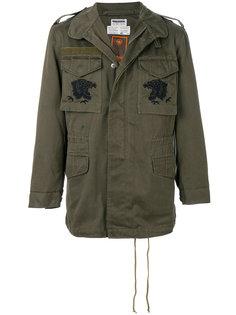 куртка в стиле милитари с вышивкой Maharishi